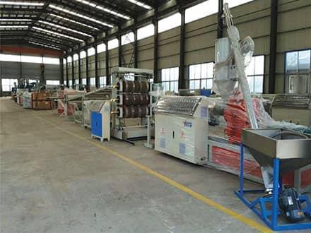 PP塑料片材生产线的组成结构以及操作说明